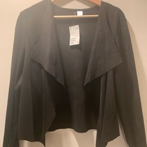 Black Jacket with outside flaps
